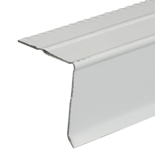 Amerimax C6 3-in x 10-ft Galvanized Steel Drip Edge
