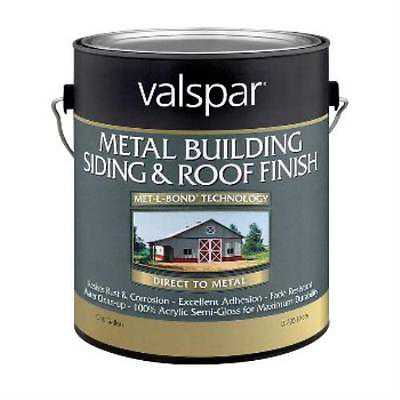 Metal Building Siding and Roof Finish, Red ~ Gallon