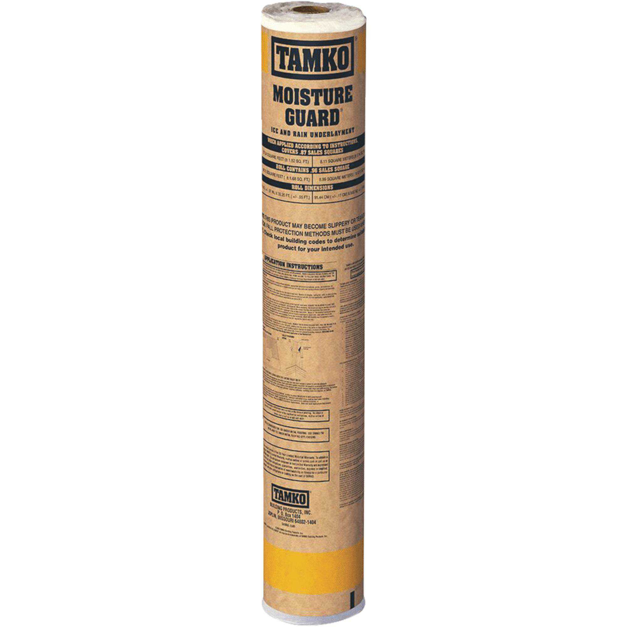 TAMKO Moisture Guard Ice & Water Roof Underlayment