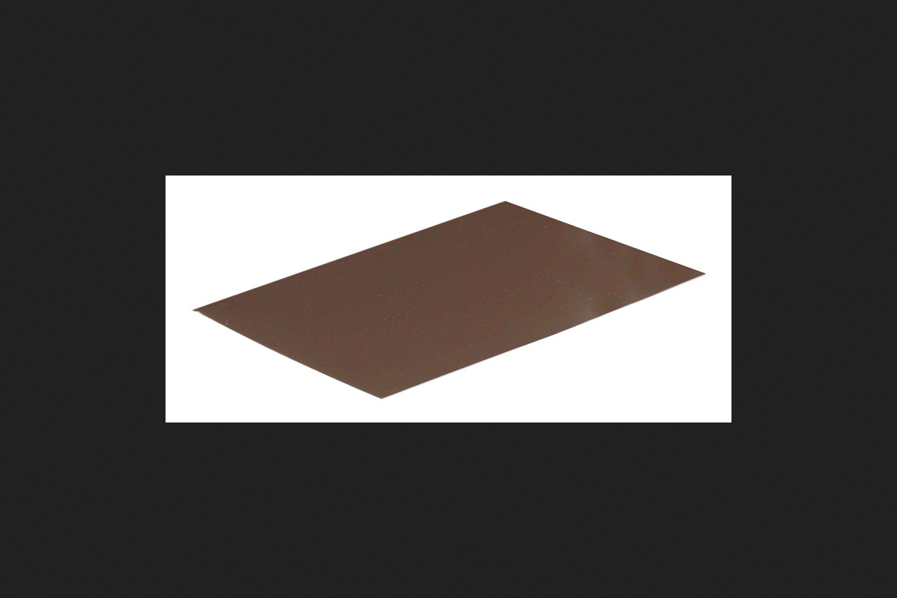 Amerimax Galvanized Steel Flashing Shingle Brown 8 in. H x 1 ft. L x 8 in. W Roof Flashing