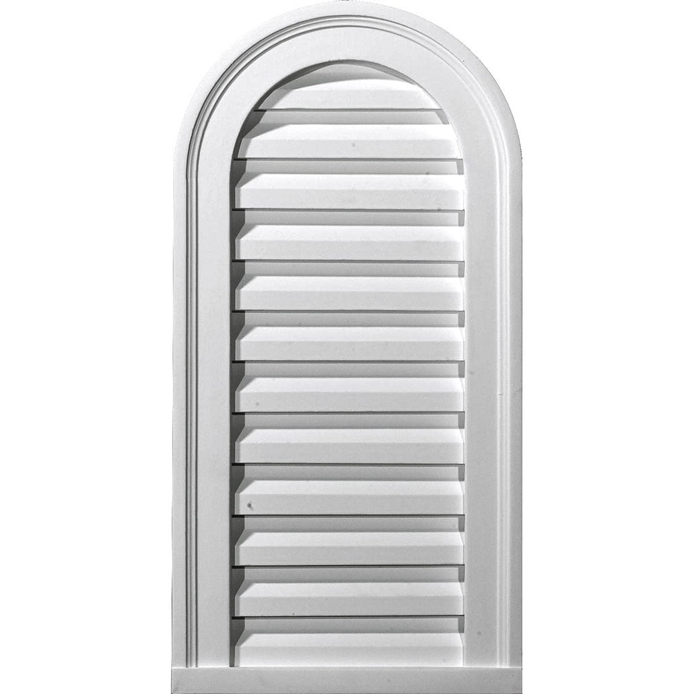 Ekena Millwork Gable Vents/Cathedral / Gable Vent Louver - Decorative / 16'W x 36'H x 2 1/8' / GVCA16X36D