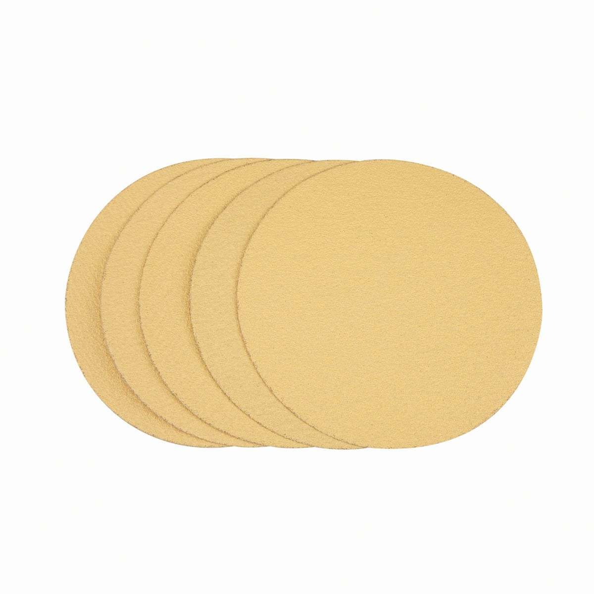 6 in. 80 Grit PSA Sanding Discs 5 Pc