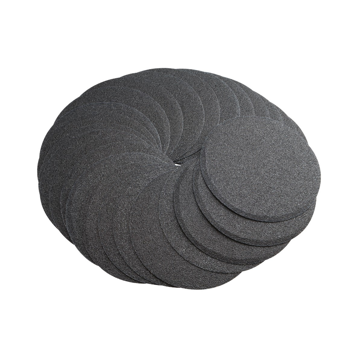 6 in. 60 Grit PSA Sanding Discs 25 Pc