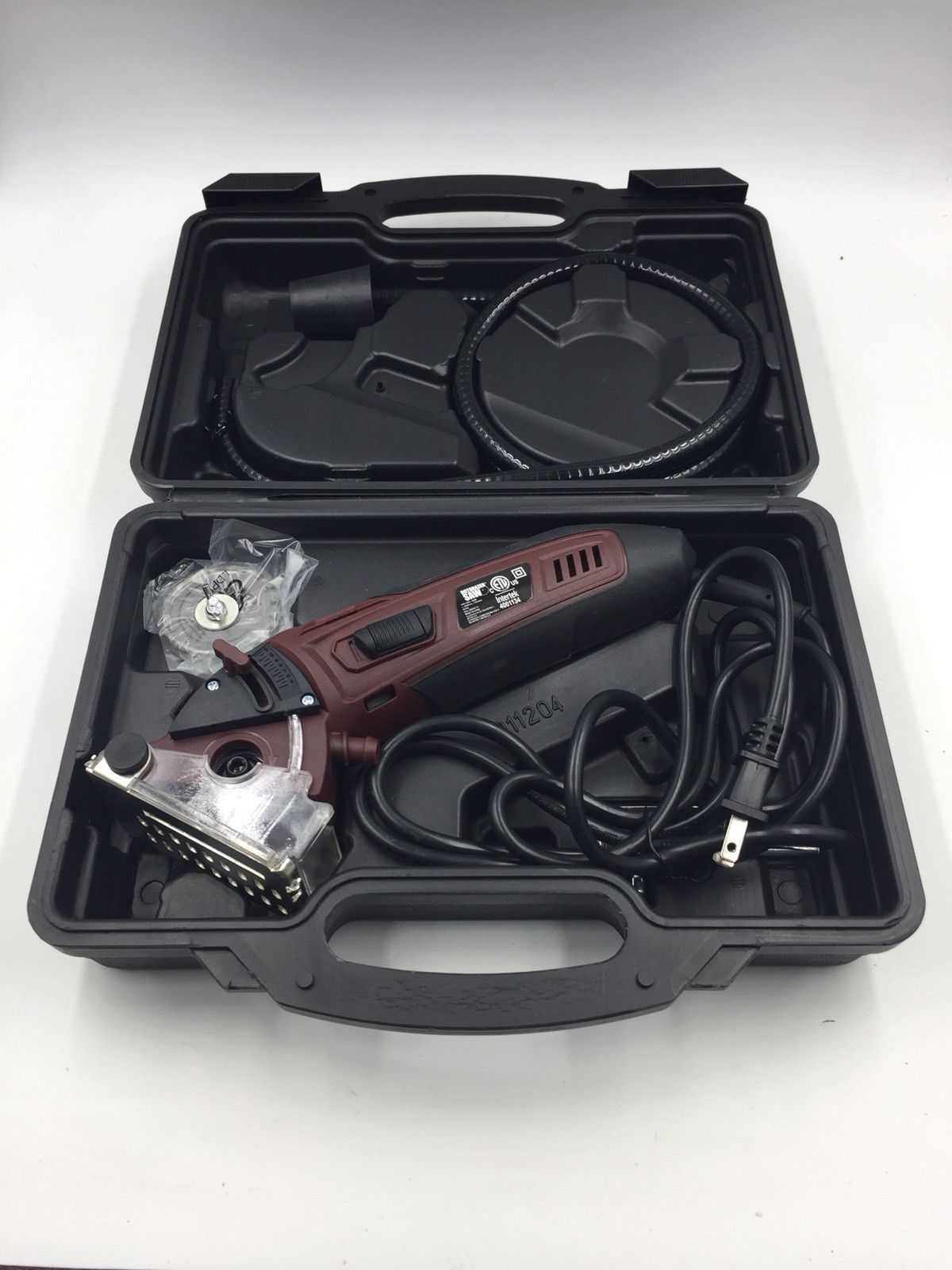 Rotorazer Saw w/ 3 Quick Change Blade and Dust Extraction System As Seen on TV