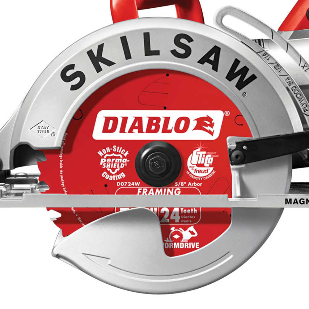 Factory-Reconditioned SKILSAW SPT77WM-RT 7-1/4 in. Magnesium Worm Drive Circular Saw (Refurbished)