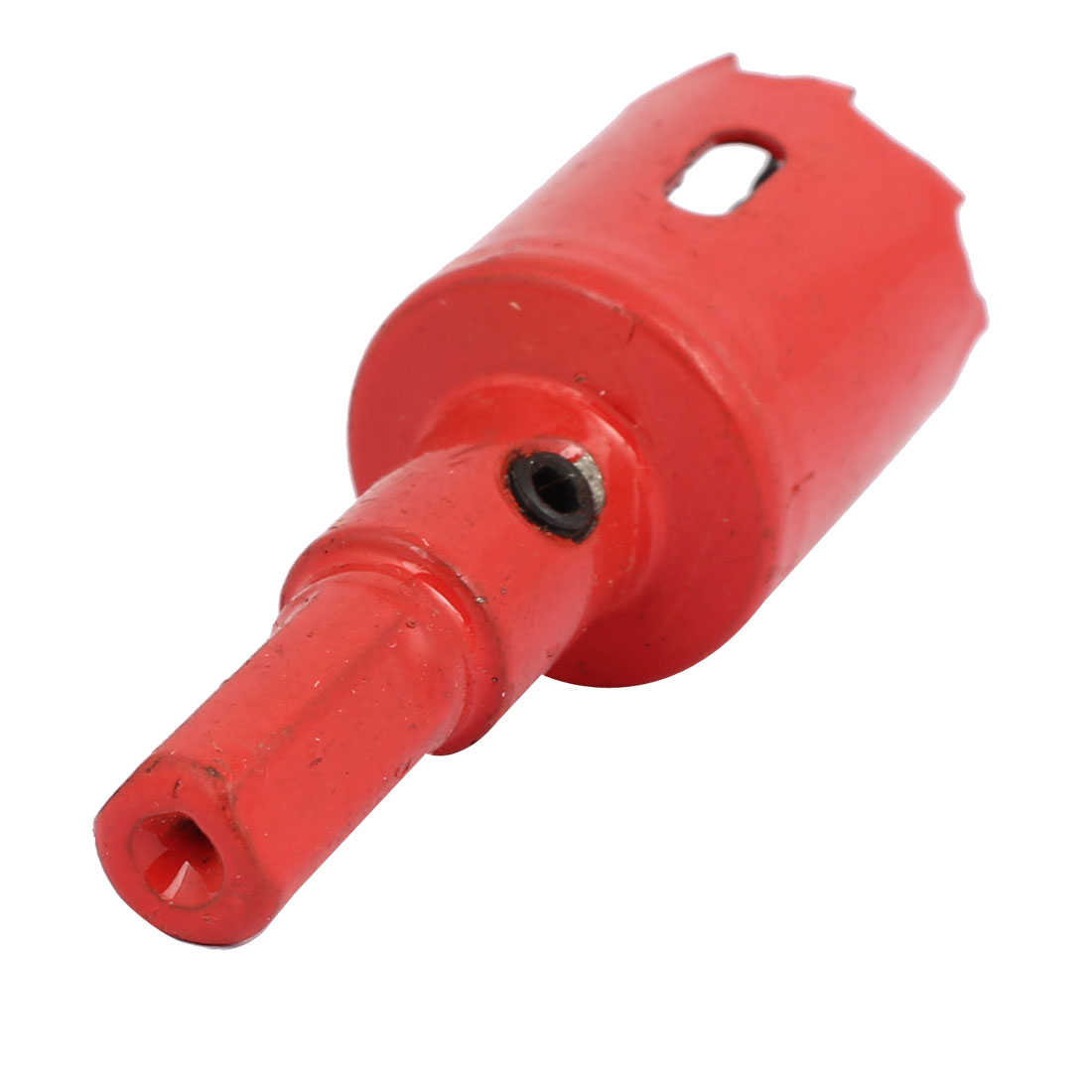 25mm Cutting Dia M42 HSS Spring Loaded Bi-Metal Hole Saw Drilling Tool Red